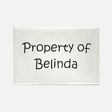 Funny Belinda Rectangle Magnet