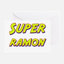 Super ramon Greeting Card