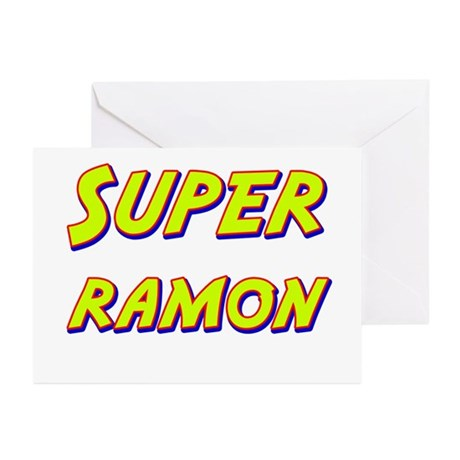Super ramon Greeting Cards (Pk of 20)