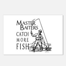 Master baiters catch more fish ~  Postcards (Packa
