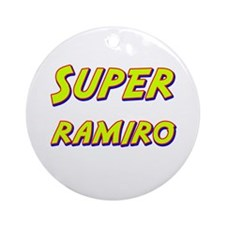 Super ramiro Ornament (Round)