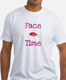 Face Time NKOTB Groupie White T-Shirt