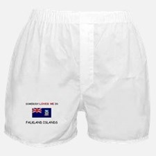 Somebody Loves Me In FALKLAND ISLANDS Boxer Shorts