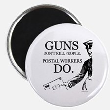 "Guns don't kill people ~ 2.25"" Magnet (100 pack)"