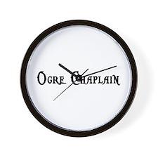 Ogre Chaplain Wall Clock
