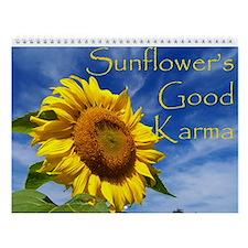 Sunflower's Good Karma Wall Calendar