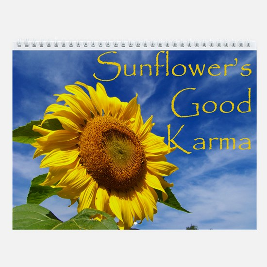 Sunflower's Good Karma Wall Calendar