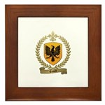 ENAULT Family Crest Framed Tile