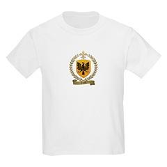 ENAULT Family Crest Kids T-Shirt
