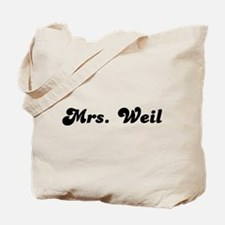 Mrs. Weil Tote Bag