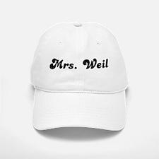 Mrs. Weil Baseball Baseball Cap