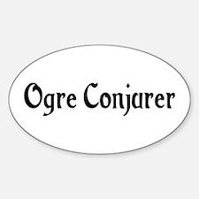 Ogre Conjurer Oval Decal