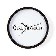 Ogre Conscript Wall Clock