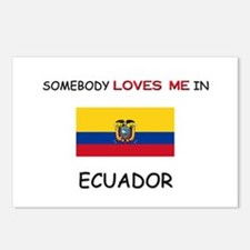 Somebody Loves Me In ECUADOR Postcards (Package of