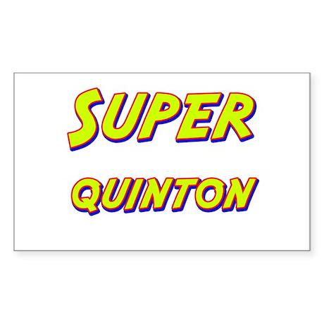 Super quinton Rectangle Sticker
