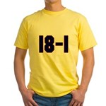 18 and 1 Yellow T-Shirt