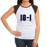 18 and 1 Women's Cap Sleeve T-Shirt