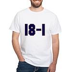 18 and 1 White T-Shirt