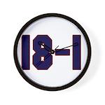 18 and 1 Wall Clock