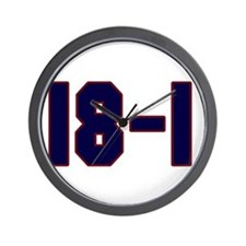 18 and 1 Wall Clock