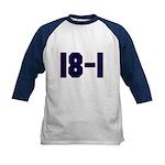 18 and 1 Kids Baseball Jersey