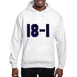 18 and 1 Hooded Sweatshirt