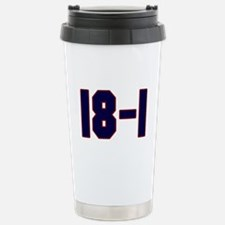 18 and 1 Stainless Steel Travel Mug
