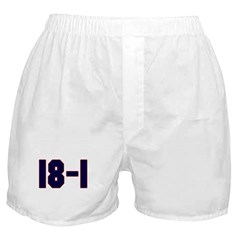18 and 1 Boxer Shorts