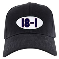 18 and 1 Baseball Hat