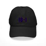 18 and 1 Black Cap