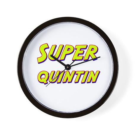 Super quintin Wall Clock