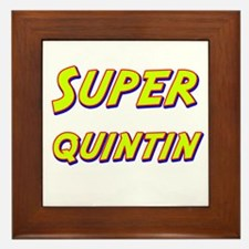 Super quintin Framed Tile