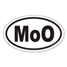 MoO Euro Oval Decal