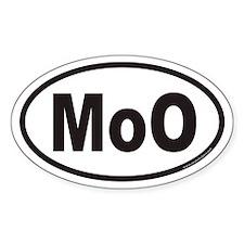 MoO Euro Oval Decal