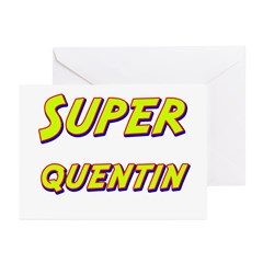 Super quentin Greeting Cards (Pk of 10)
