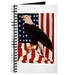 Bald Eagle and Flag Journal