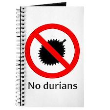 No Durian Journal