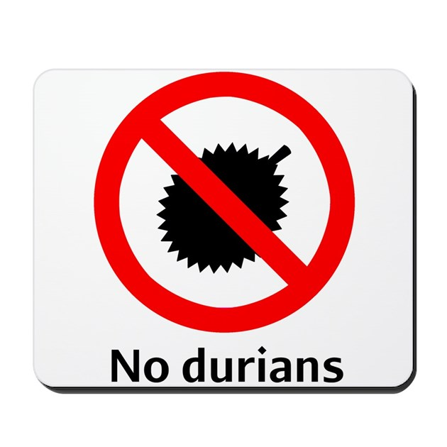 No Durian Mousepad by ...