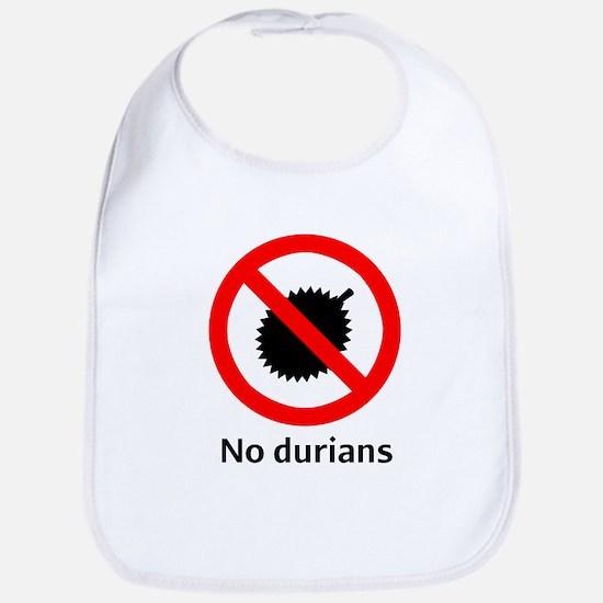 No Durian Bib