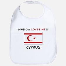 Somebody Loves Me In CYPRUS Bib