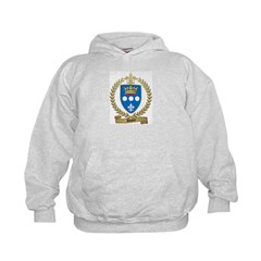 DUPUY Family Crest Kids Hoodie