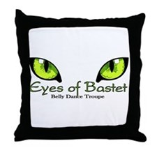 Unique Cat eyes Throw Pillow