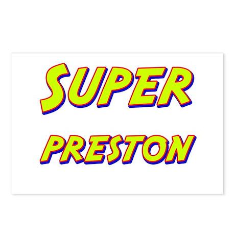 Super preston Postcards (Package of 8)