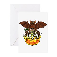 Hell O' Ween Greeting Cards (Pk of 20)