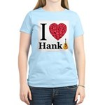 I Love Hank Women's Pink T-Shirt