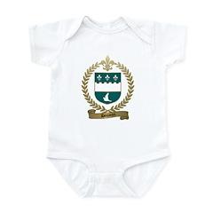 DOUARON Family Crest Infant Creeper