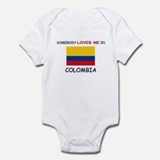 Somebody Loves Me In COLOMBIA Infant Bodysuit
