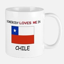 Somebody Loves Me In CHILE Mug