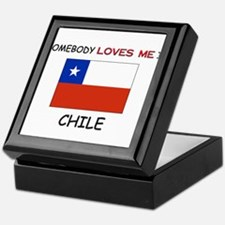 Somebody Loves Me In CHILE Keepsake Box
