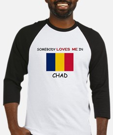Somebody Loves Me In CHAD Baseball Jersey